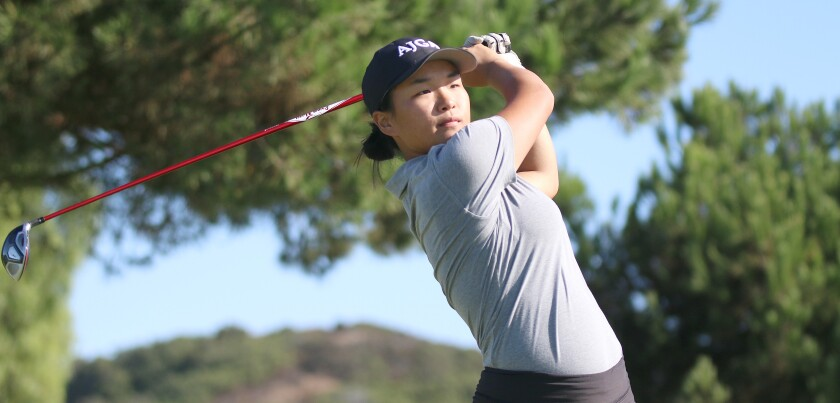 Torrey Pines senior Summer Yang is among the section's best players.