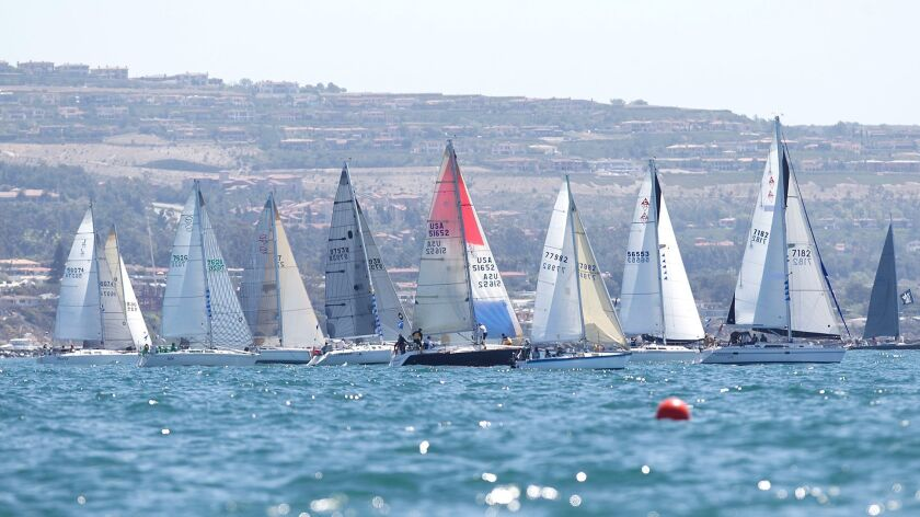 The Newport Ocean Sailing Assn. is hosting an event Sunday to celebrate the annual Newport to Ensenada International Yacht Race's 70th year.