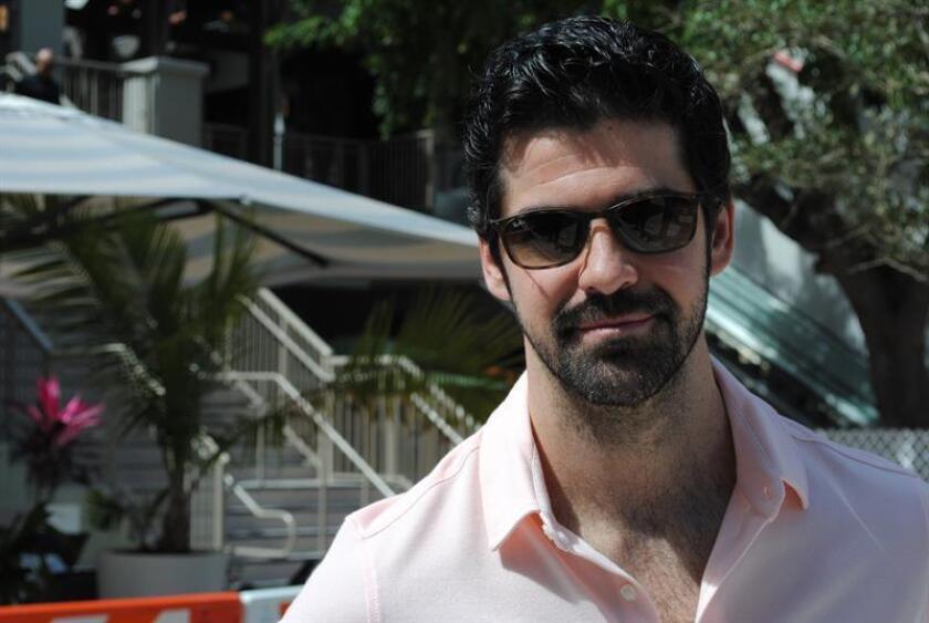 El actor español Miguel Ángel Muñoz, de 35 años, posa para Efe durante una entrevista este 21 de febrero de 2019 en Miami, Florida (Estados Unidos). EFE