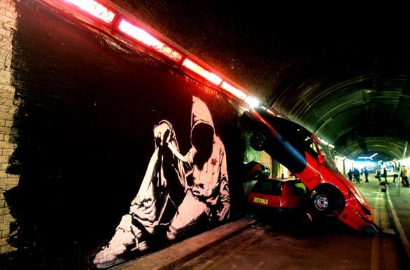Graffiti Show In London Tunnel