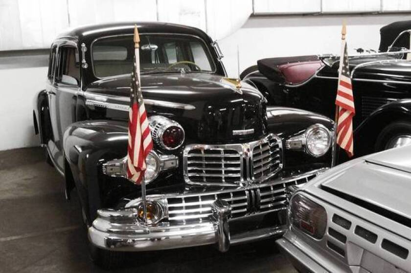 Vaulting into car history at the Petersen museum