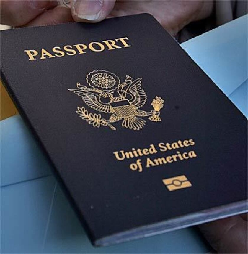 Passport services are being temporarily suspended because of the pandemic.