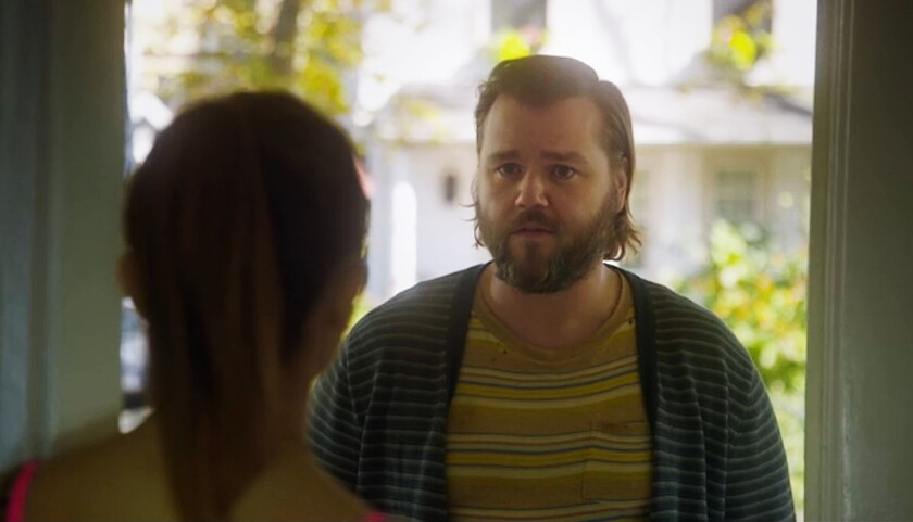 """The buoyant Tyler Labine as the bumbling New York City medium Kevin breathes life into the quirky paranormal comedy """"Deadbeat"""" on Hulu."""