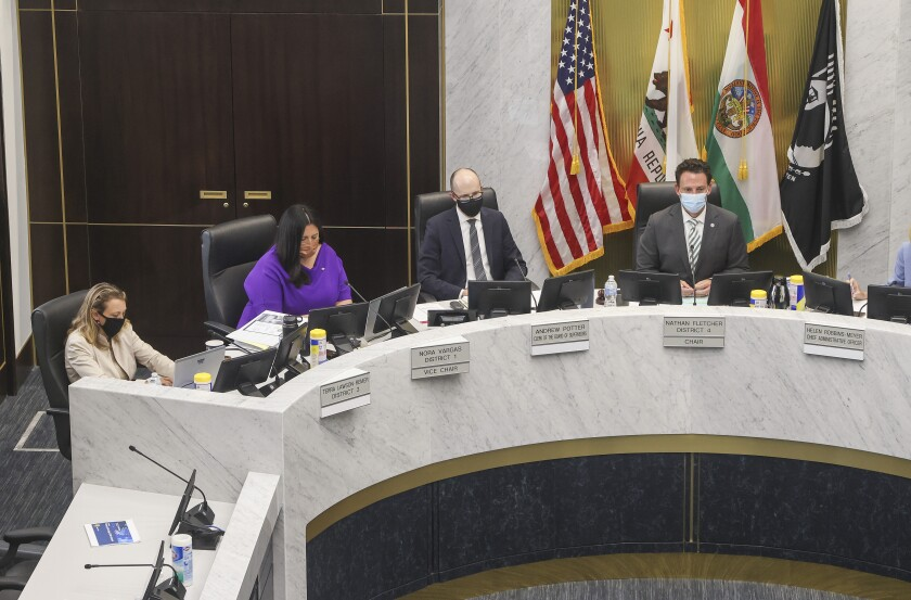 The County Board of Supervisors
