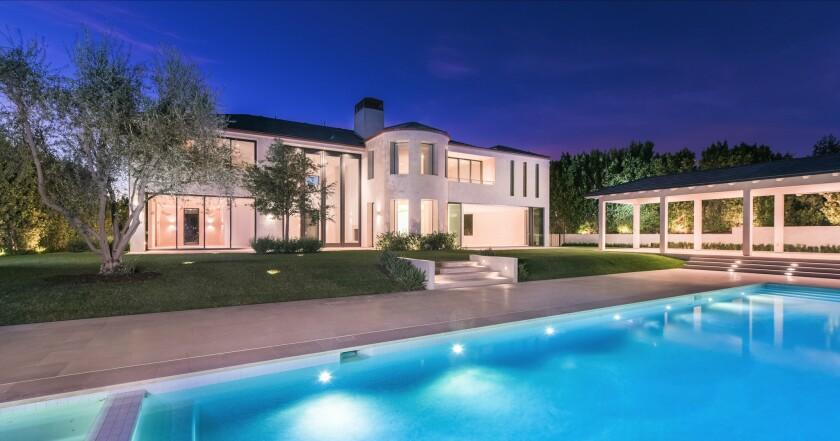 Kim and Kanye's former mansion