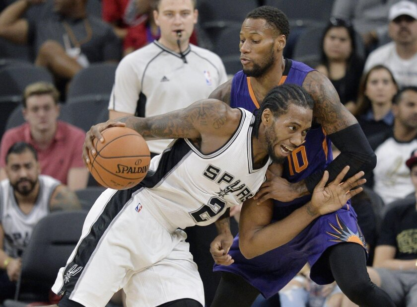 Former San Diego State star Kawhi Leonard has made his mark in the NBA with the Spurs.