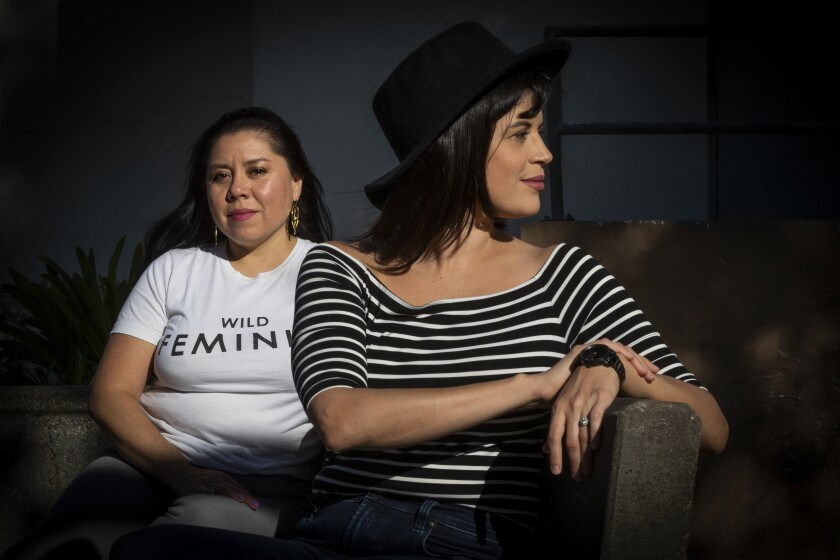 Latino TV writers Diana Mendez and Judalina Neira formed a group that represents the Latinx community in Hollywood