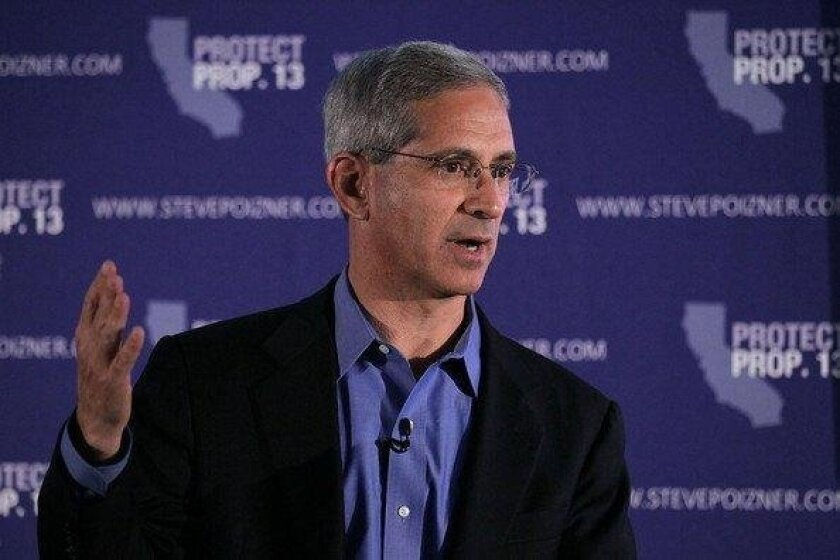 Former State Insurance Commission Steve Poizner will become the inaugural Entrepreneur in Residence at the Rady School of Management at UC San Diego.