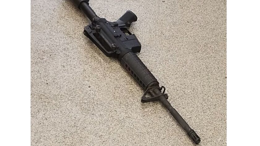 This photo provided by the Metro Nashville Police Department photo shows the rifle used in the deadl