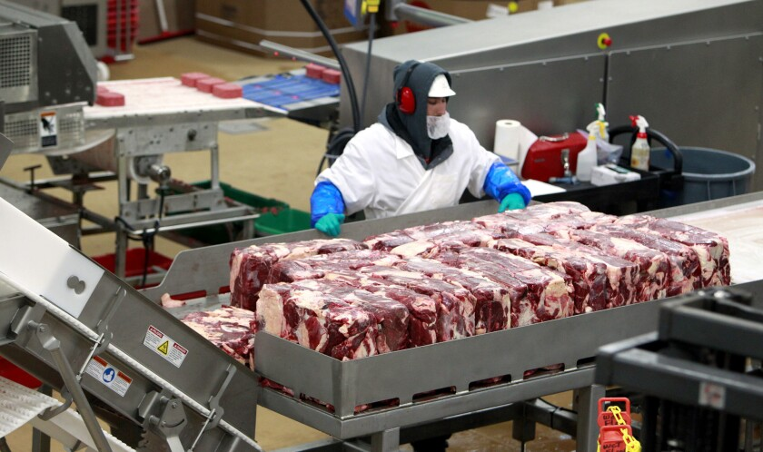 Meat shortage could be triggered by sequestration, White House warns