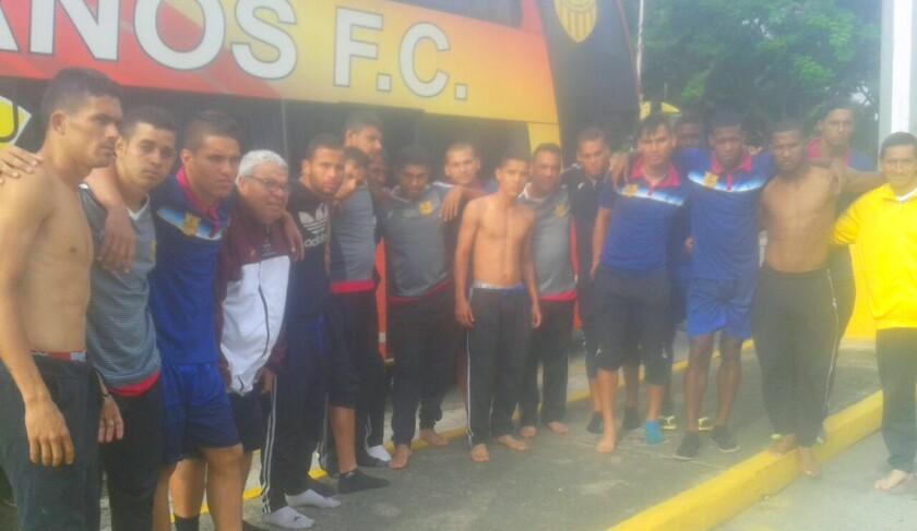 El club Trujillanos compartió la imagen de cómo quedaron tras el asalto.