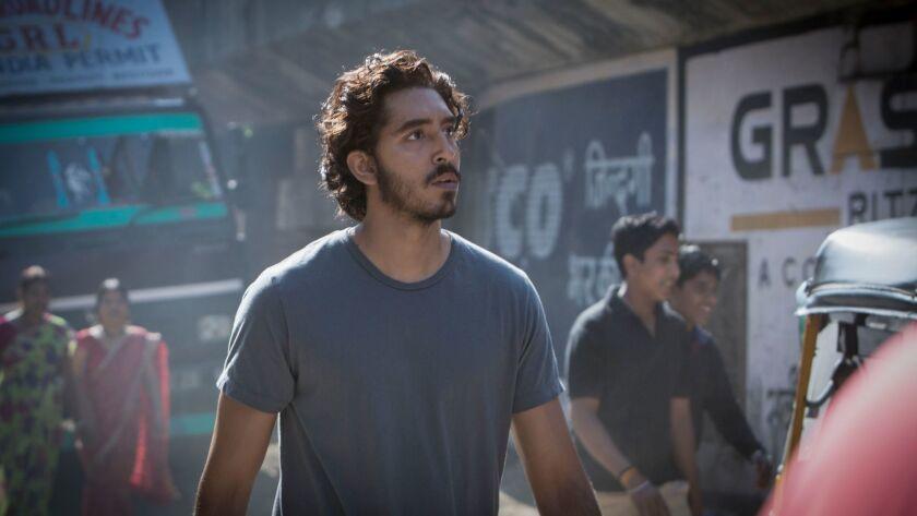 """Dev Patel as Saroo Brierley in """"Lion."""""""