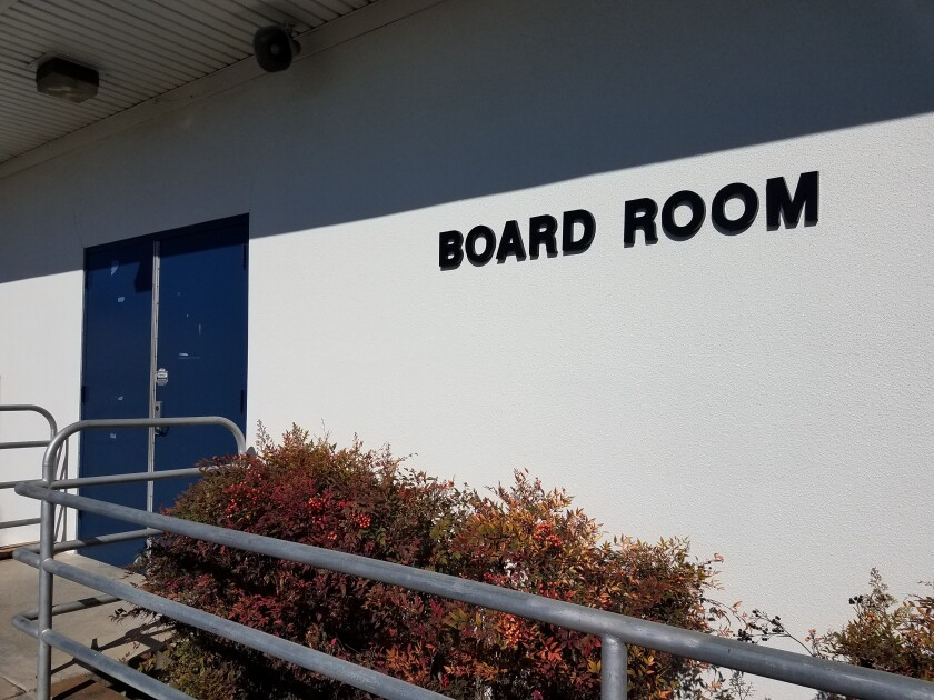 After the San Diego County Deputy Superintendent said Sweetwater's budget was inaccurate, the Sweetwater Union High School Board complained that the county was being unfair to the district and did not give them a chance to respond.