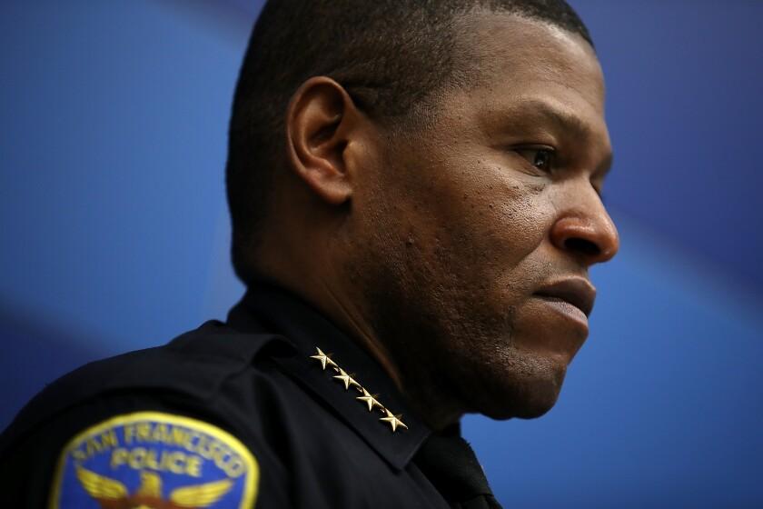 San Francisco Police Chief William Scott