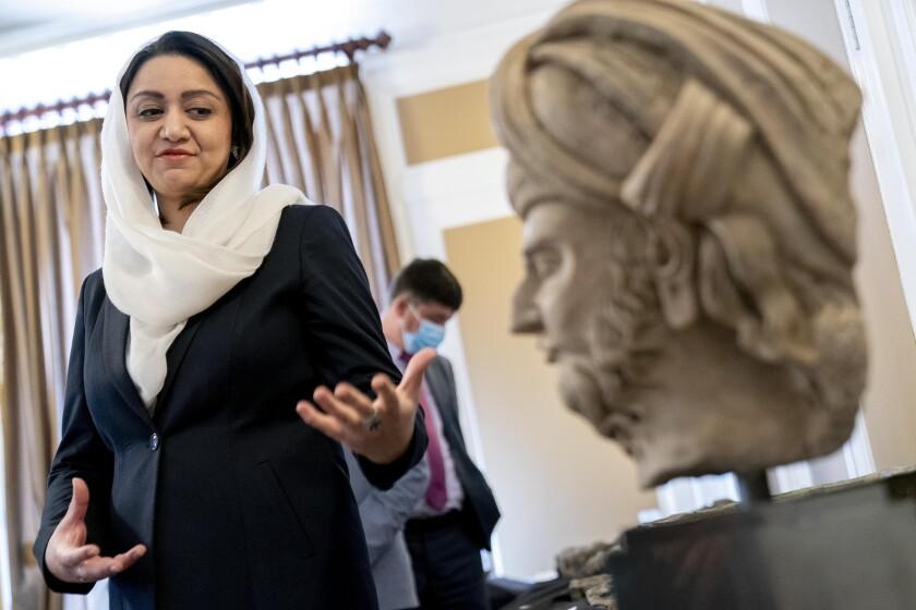 Afghan Ambassador to the U.S. Roya Rahmani