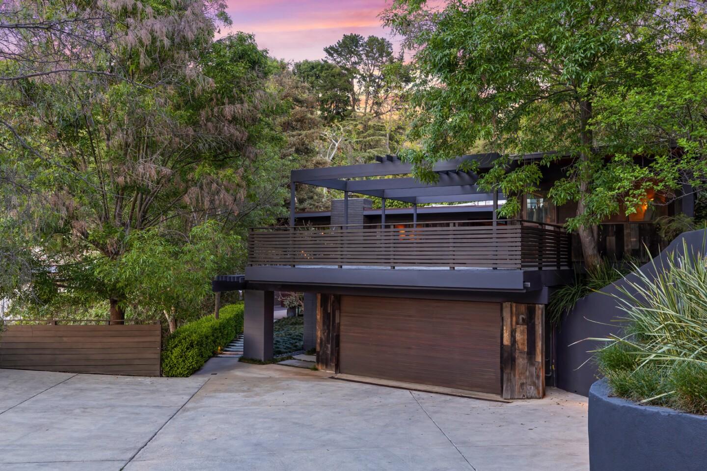 Jerry Bruckheimer's former Nichols Canyon home   Hot Property