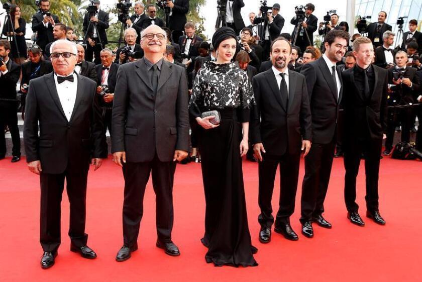 """Taraneh Alidoosti, protagonista de """"The Salesman"""", película iraní candidata al Óscar como mejor cinta de habla no inglesa, dijo hoy que no acudirá a esa ceremonia en señal de protesta por la restricción de visados que planea el presidente, Donald Trump. EFE/EPA/ARCHIVO"""