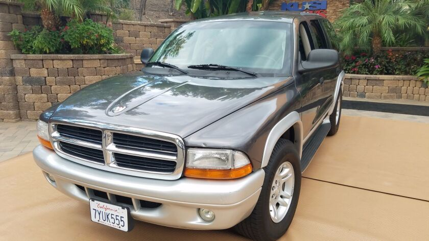 A 2002 Dodge Durango will be given away as part of the 2017 Car for a Cause giveaway.