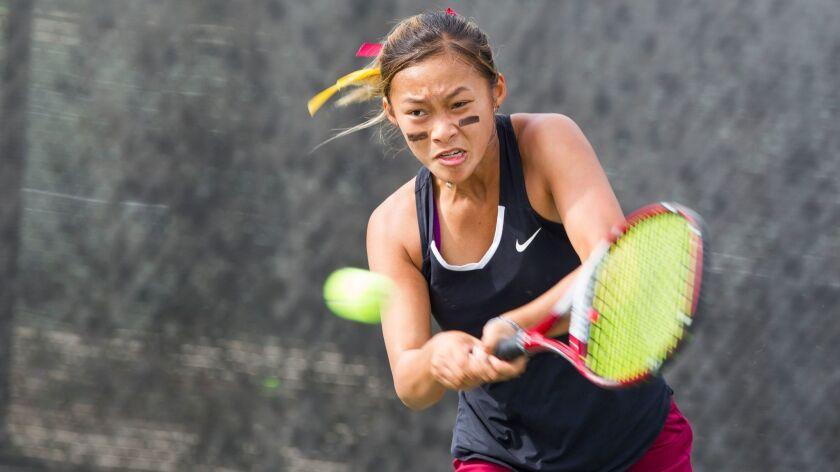 Megan Tran's three wins in singles helped Torrey Pines earn the Southern California Regional title.