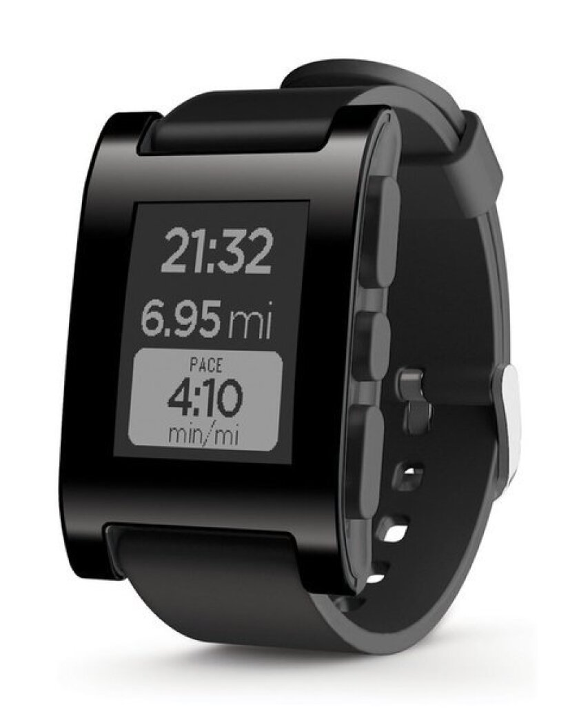 The retail launch of the Pebble smartwatch will take place Sunday, when it goes on sale in Best Buy stores.