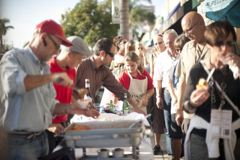 Taste of Main Street tickets went on sale in Encinitas on July 17. Courtesy photo