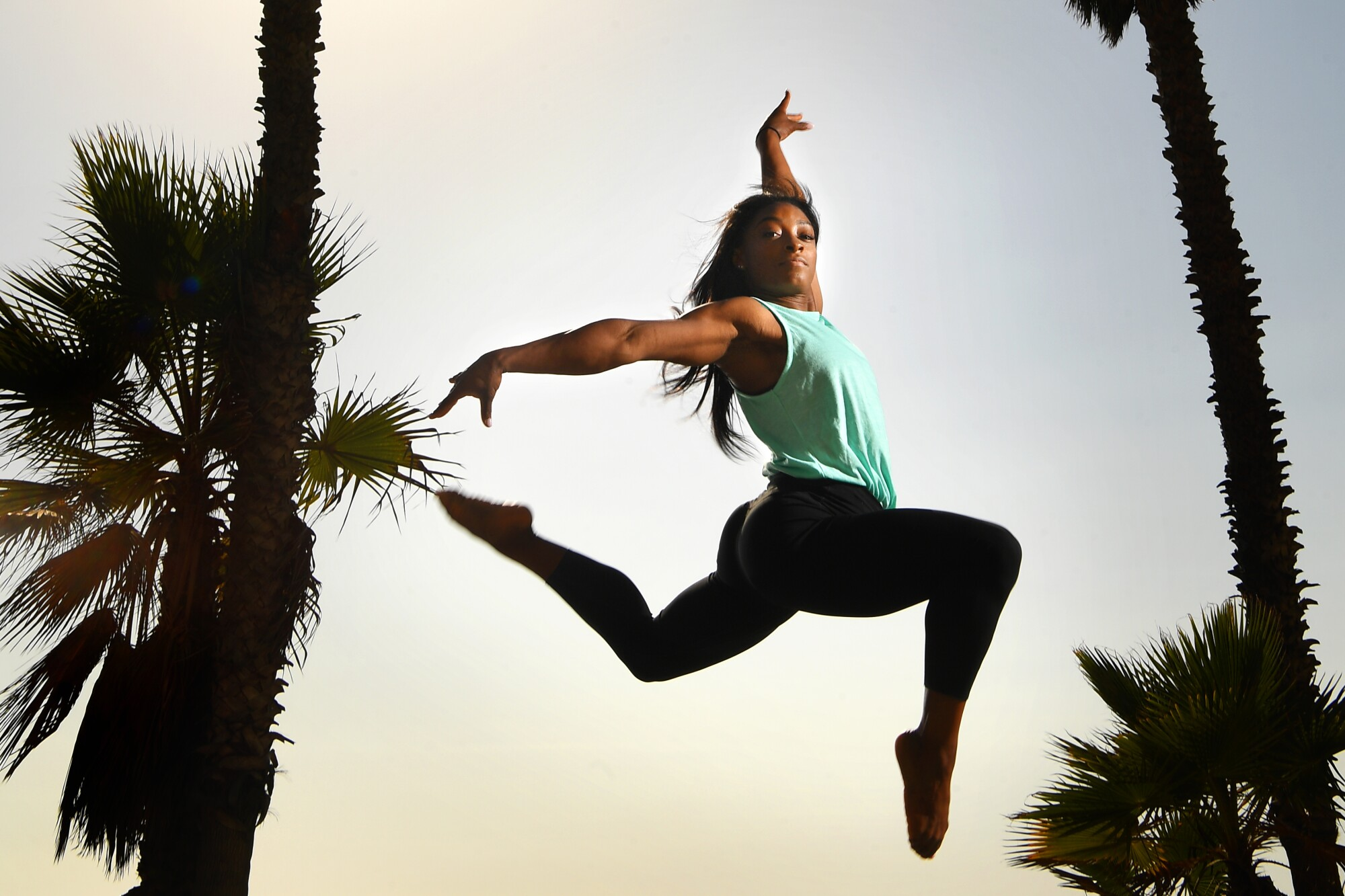 Simone Biles, photographed at Shutters on the Beach in Santa Monica, is America's most decorated gymnast.