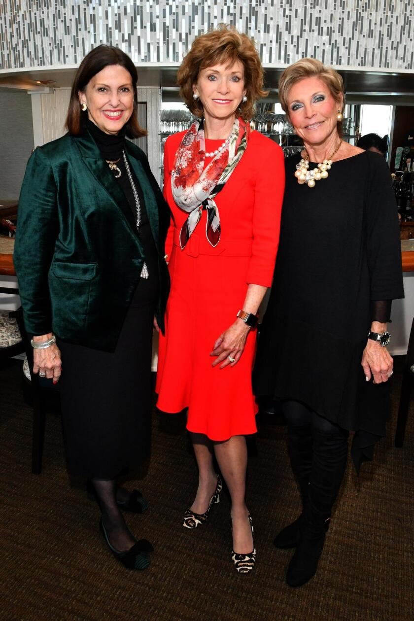 Event vice-chairsAnn Hill and Susan Hoehn with chair Pat Lau