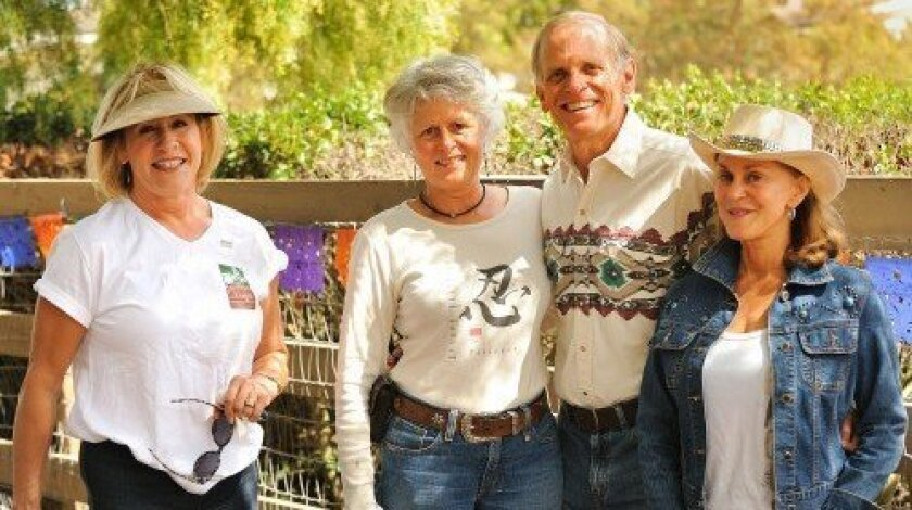 Roxana Foxx, Debra Saum, Pete Smith, Linda Harris (Photo/Jon Clark)
