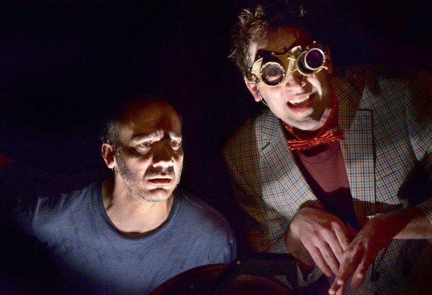 "Evan Zes and Danny Gavigan in La Jolla Playhouse's production of ""Peer Gynt."""