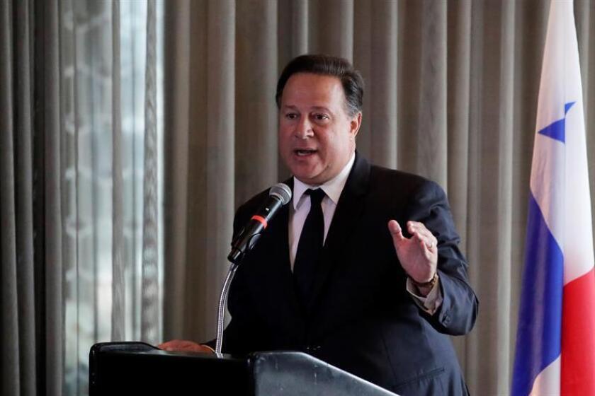 El presidente de Panamá, Juan Carlos Varela. EFE/Archivo