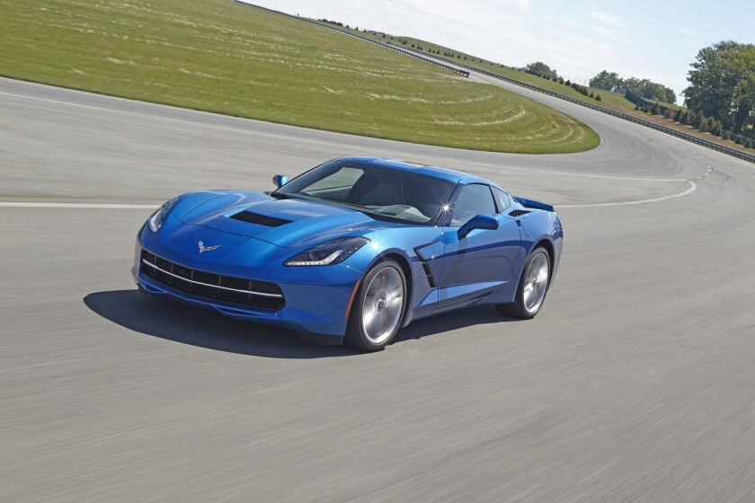 The 2015 Corvette. The latest version of the sports car, due out in September, has a feature that records where the car goes with a camera mounted in the windshield trim.