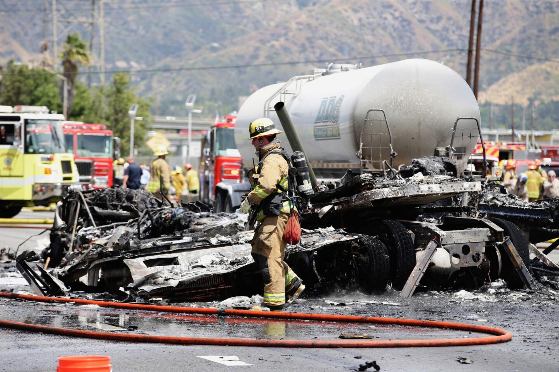 Deadly crash on 5 Freeway