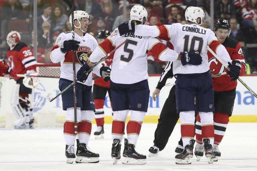 Panthers Devils Hockey