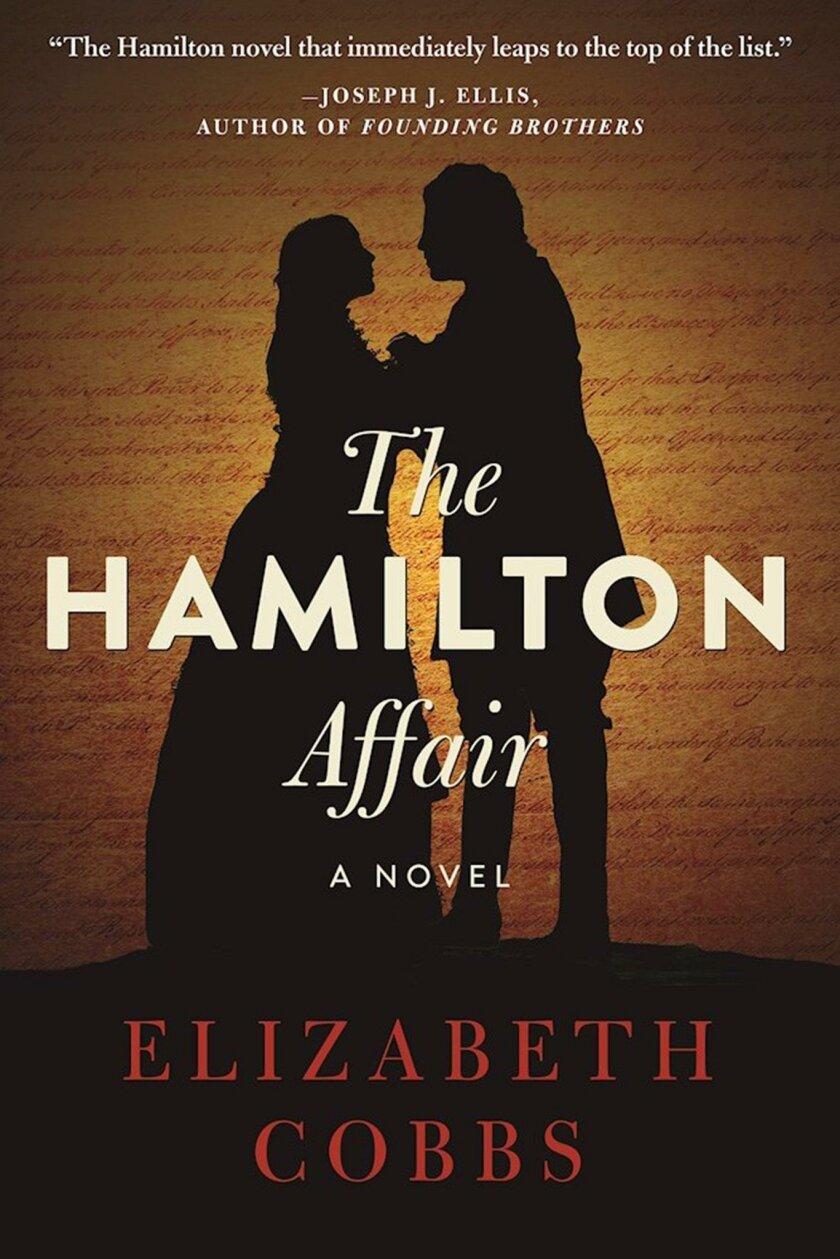 """""""The Hamilton Affair"""" is her second novel."""