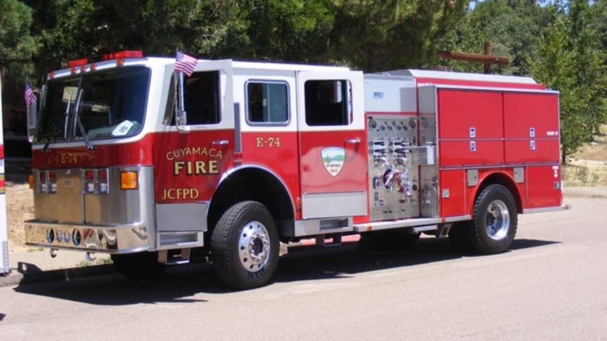 County Seeks Missing Fire Truck As Tussle With Volunteer Firefighters Heats Up The San Diego Union Tribune