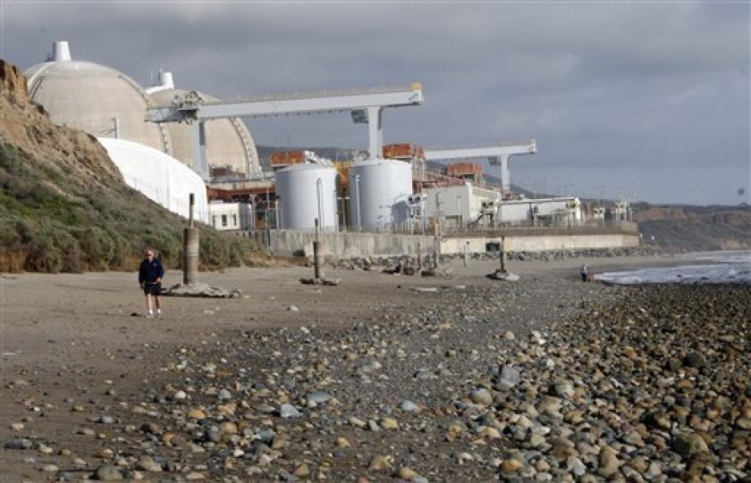 The San Onofre Nuclear Generating Station provides about 20 percent of the region's power.