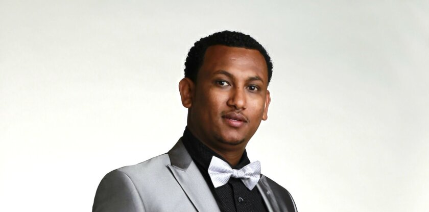 Ashenafi Takele / photo by K.C. Alfred * U-T