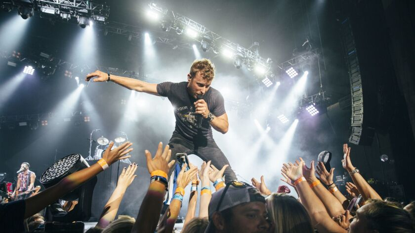 Dierks Bentley is bringing his world tour to San Diego Aug. 25, 2017.