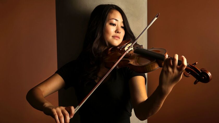 Violinist Simone Porter will perform in recital at the Broad Stage in Santa Monica.