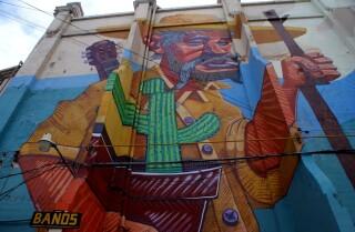 El arte urbano se apodera de la ciudad mexicana de Tijuana con temas sociales