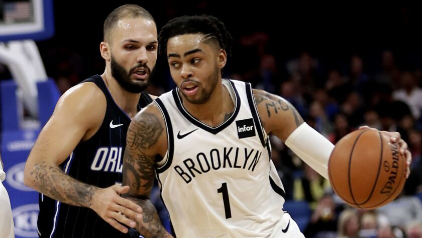 NBA Fastbreak: D'Angelo Russell, former future of Lakers