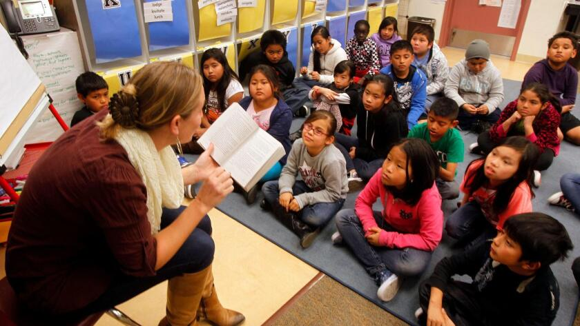 English learner class photo by Union-Tribune