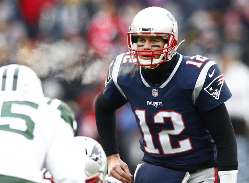 El mariscal de campo de los Patriots de Nueva Inglaterra, Tom Brady. EFE/Archivo