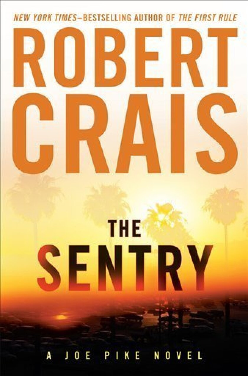 """In this book cover image released by Putnam, """"The Sentry,"""" by Robert Crais, is shown. (AP Photo/Putnam)"""