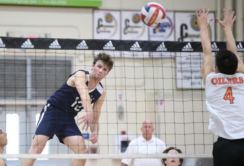 Photo Gallery: Newport Harbor vs. Huntington Beach in boys' volleyball