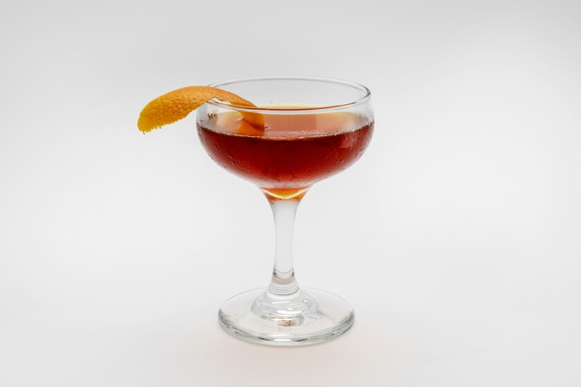 Gabe's Witch's Brew cocktail