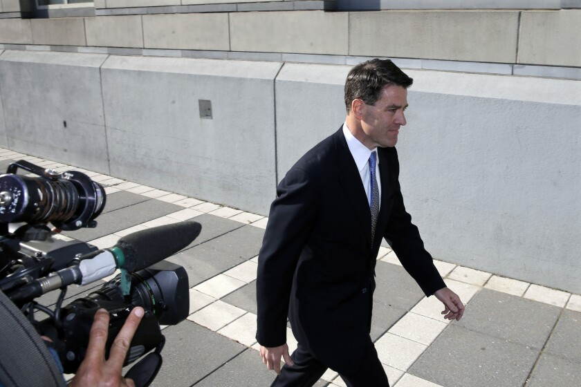 Bill Baroni, a former Gov. Chris Christie appointee and top official at the Port Authority of New York and New Jersey, convicted with another aide of helping orchestrate massive traffic tie-ups at the George Washington Bridge in September 2013.