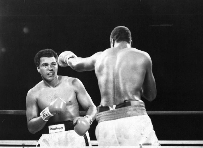 Larry Holmes v Muhammad Ali