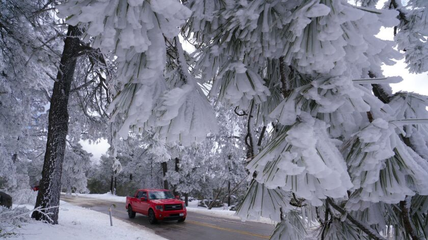 Recent weather brought a fresh pack of snow to area mountains. Many low land residents ventured to M