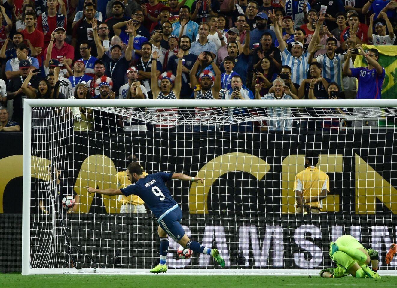 EEUU vs. Argentina
